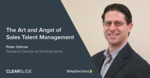 Sirius Decisions - Sales Talent Management