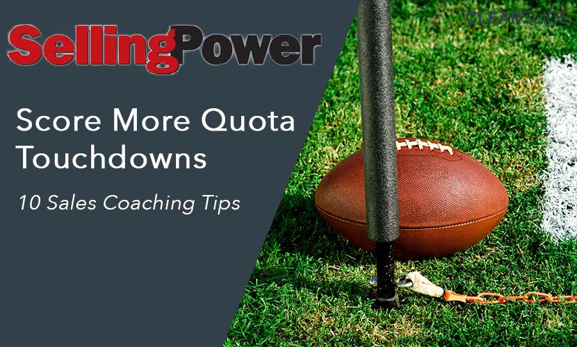 sales coaching quotas